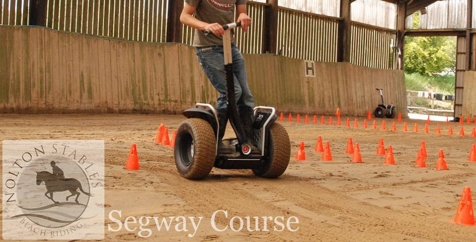 Header segway course